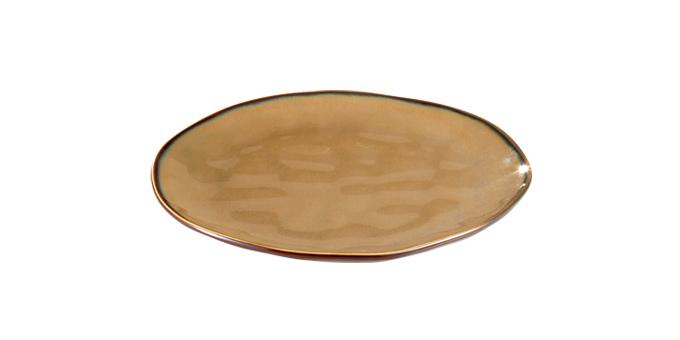 TESCOMA dezertní talíř LIVING ø 21 cm, hnědá