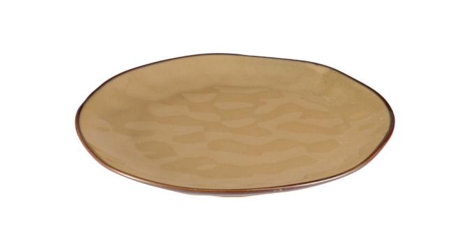 TESCOMA mělký talíř LIVING ø 26 cm, hnědá