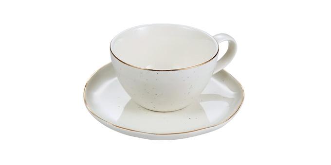 Šálka na espresso CHARMANT, s tanierikom