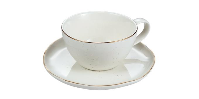 Šálka na čaj CHARMANT, s tanierikom