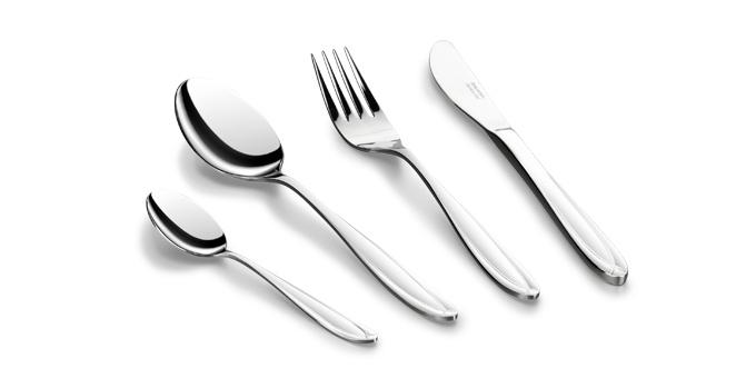 TESCOMA jídelní příbor SCARLETT, souprava 24 ks