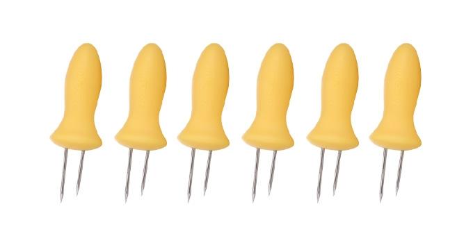 TESCOMA držák na kukuřici PRESTO, 6 ks, žlutá