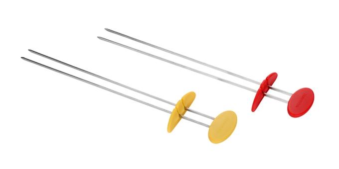 Dvojitá grilovací jehla PRESTO TONE 30 cm, 2 ks