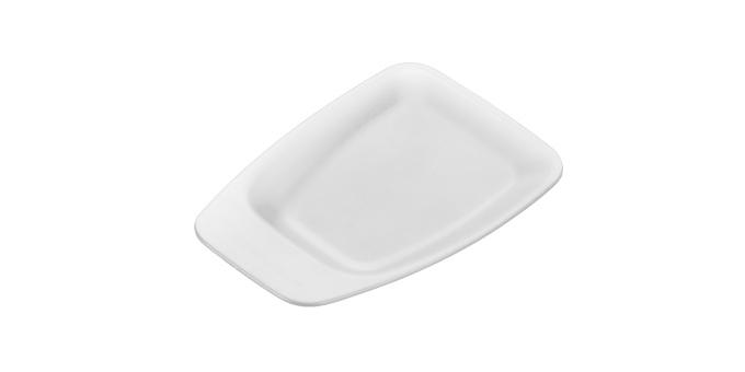 TESCOMA odkládací tácek na čajové sáčky PRESTO, 2 ks, bílá