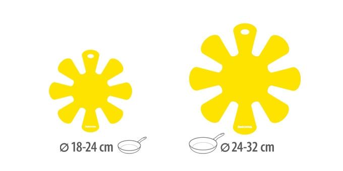 TESCOMA proložka mezi pánve PRESTO, malá a velká, 2 ks, žlutá