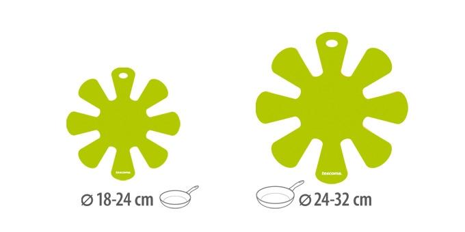 TESCOMA proložka mezi pánve PRESTO, malá a velká, 2 ks, zelená