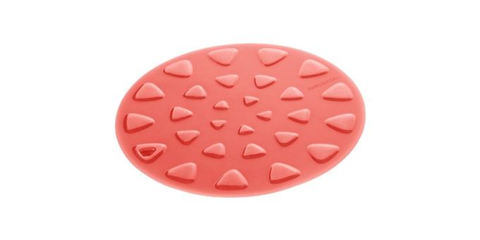 TESCOMA podložka pod nádobí PRESTO ø 19 cm, červená