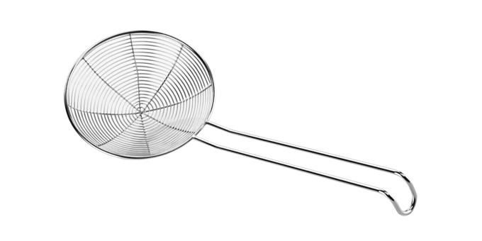 Spiralförmiger Schaumlöffel GrandCHEF 14 cm