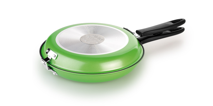 TESCOMA oboustranná pánev PRESTO ø 26 cm, zelená