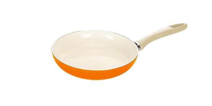 TESCOMA pánev ecoPRESTO Signal ø 24 cm, oranžová