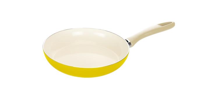 TESCOMA pánev ecoPRESTO Signal ø 26 cm, žlutá