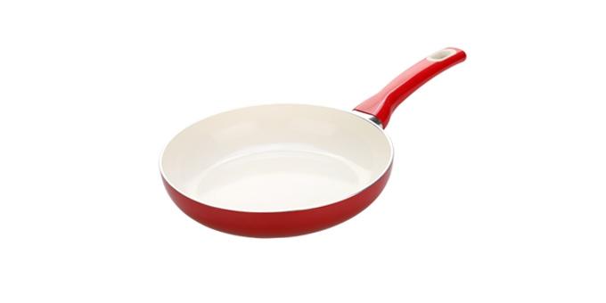 TESCOMA pánev FUSION ø 24 cm, červená