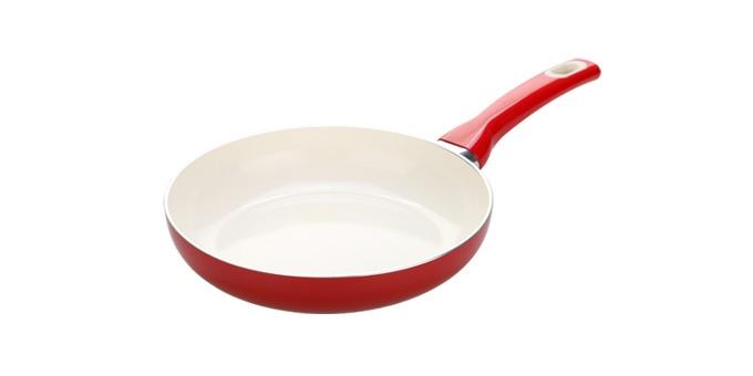 TESCOMA pánev FUSION ø 28 cm, červená
