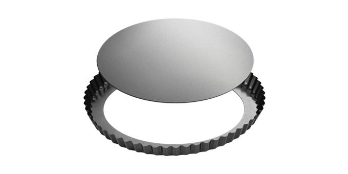 Forma de tarte ondulada desmontável DELÍCIA ø 28 cm