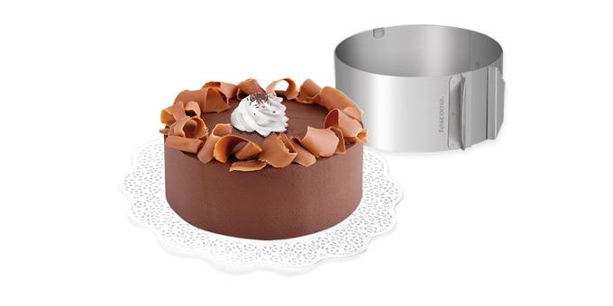 TESCOMA nastavitelná forma na dort kulatá DELÍCIA ø 16 - ø 30 cm
