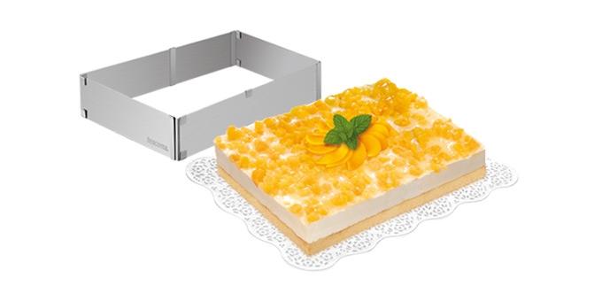 Nastavitelná forma na dort obdélníková DELÍCIA