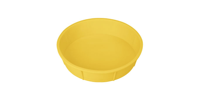 TESCOMA forma na dort DELÍCIA SILICONE ø 28 cm, žlutá
