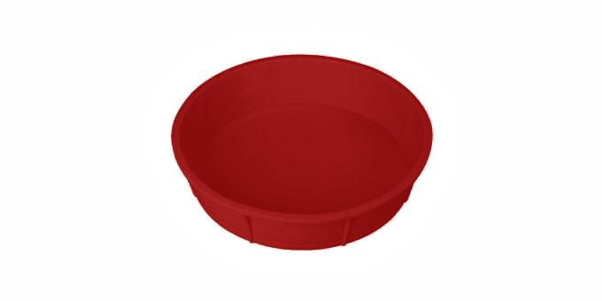TESCOMA forma na dort DELÍCIA SILICONE ø 28 cm, červená