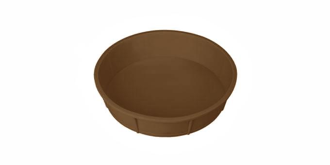 TESCOMA forma na dort DELÍCIA SILICONE ø 28 cm, hnědá