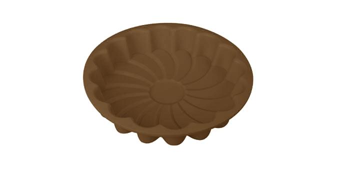 Forma na koláč - kvet TOP SILICONEø 22 cm