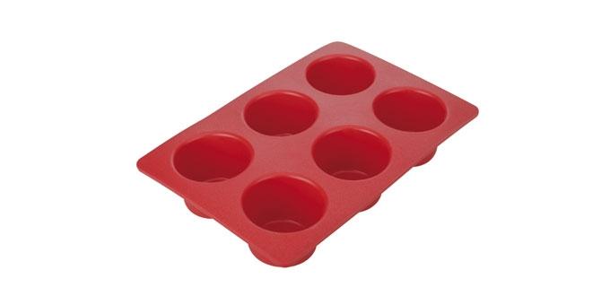 Forma 6 muffinek DELÍCIA SILICONE