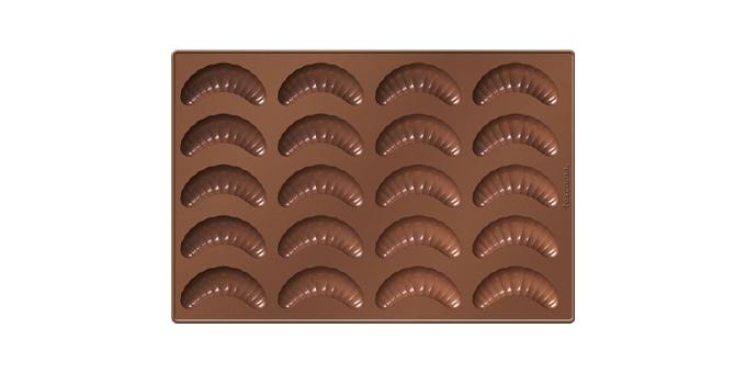 Forma na vanilkové rohlíčky DELÍCIA SILICONE