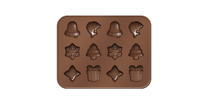 Formičky na čokoládu DELÍCIA CHOCO, vánoční motivy