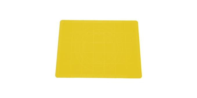TESCOMA vál na těsto silikonový DELÍCIA 38x28 cm, žlutá