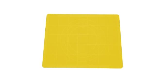 TESCOMA vál na těsto silikonový DELÍCIA 48x38 cm, žlutá