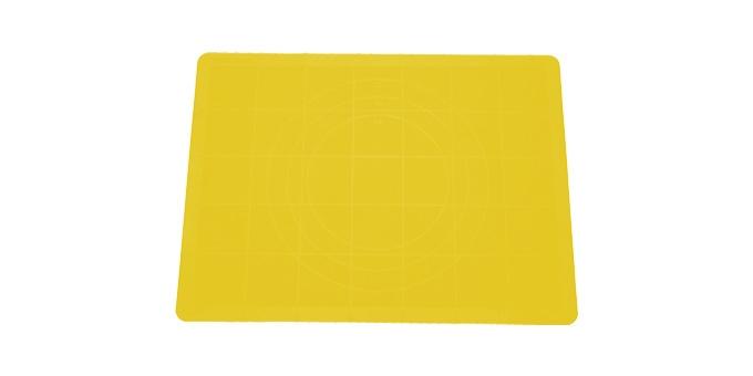 TESCOMA vál na těsto silikonový DELÍCIA 58x48 cm, žlutá