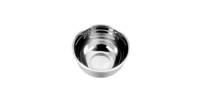 Saladeira DELÍCIA, aço inoxidável, ø 20cm, 2.5 l