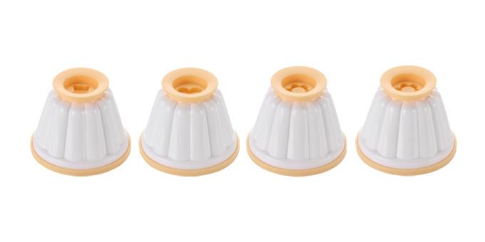 Formas p/ creme custard DELÍCIA, 4 pcs