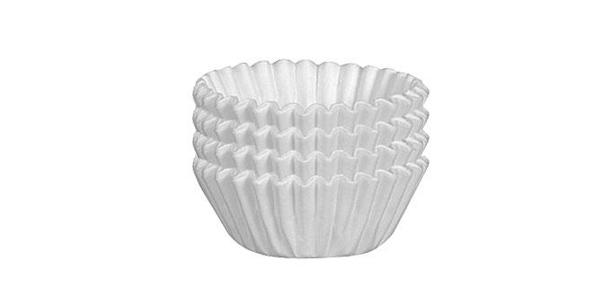 Muffin-Körbchen DELÍCIA, ø6.0 cm, 100 St., weiß