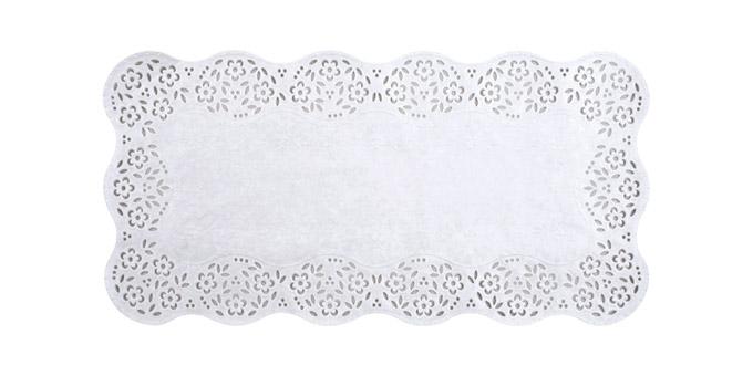 Naperon de papel DELÍCIA, 40x20 cm, 8 pcs