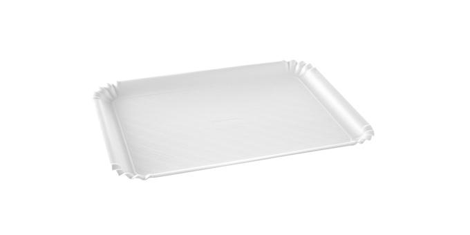 Podnos DELÍCIA 35x25 cm, bílý, 3 ks