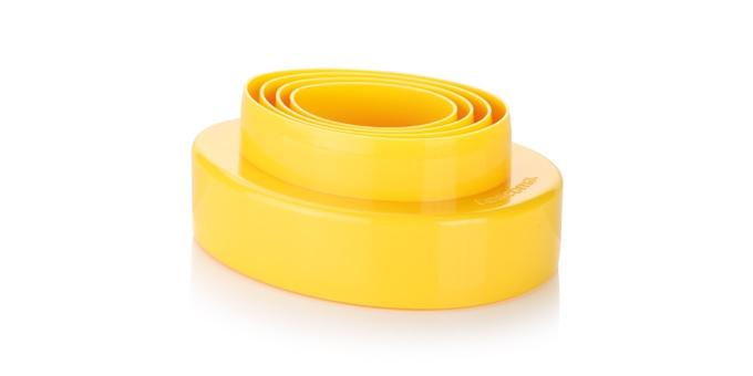 Dwustronne foremki do wykrawania jajeczka DELÍCIA, 8 rozmiarów