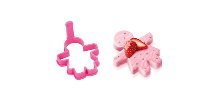 TESCOMA univerzální formička pro holky DELÍCIA KIDS, růžová