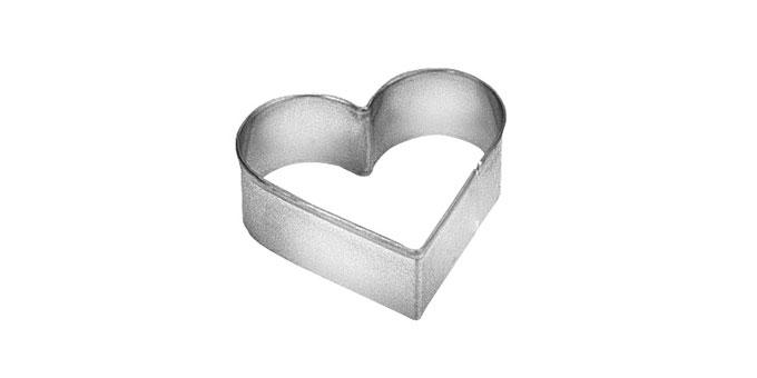 Corta massas coração peq.DELÍCIA, 4,2 x 4,4 cm