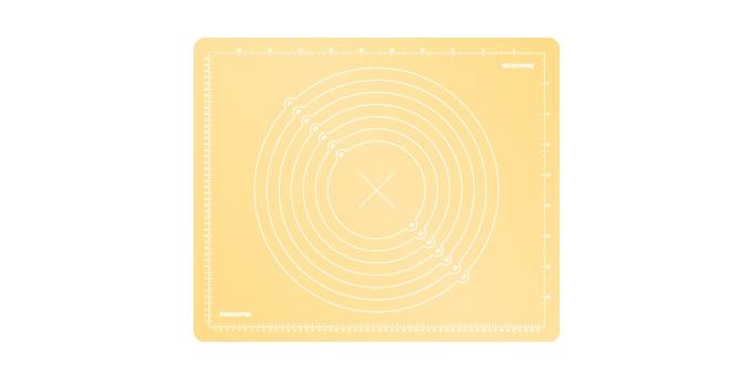TESCOMA vál silikonový DELÍCIA DECO 55x45 cm, žlutá