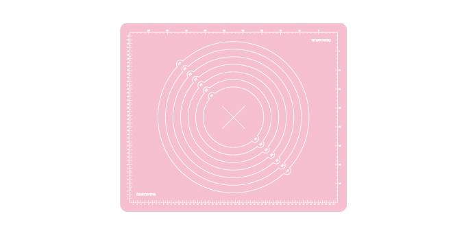 TESCOMA vál silikonový DELÍCIA DECO 55x45 cm, růžová