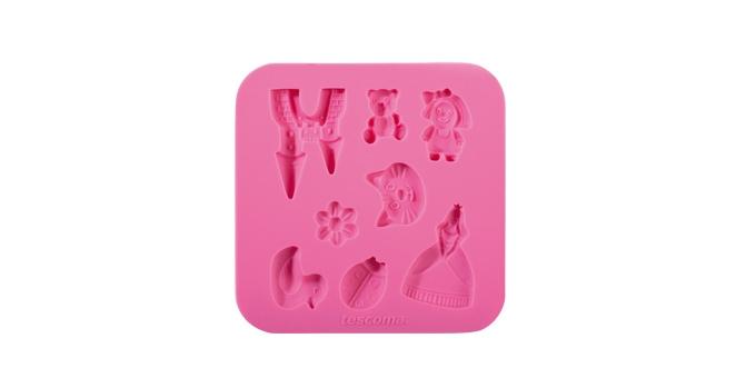 TESCOMA silikonové formičky DELÍCIA DECO, pro holky