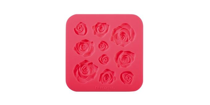 TESCOMA silikonové formičky DELÍCIA DECO, růžičky