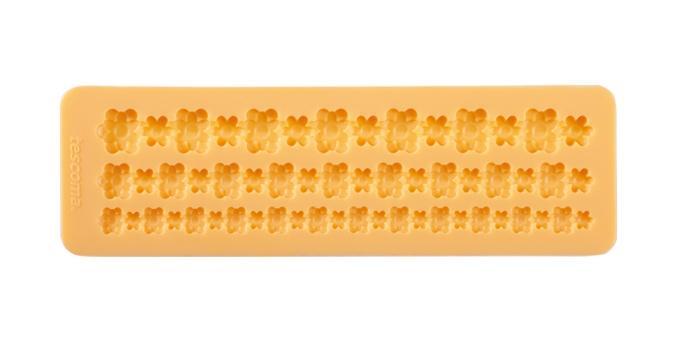 Silikonové formičky DELÍCIA DECO, bordura s květinkami