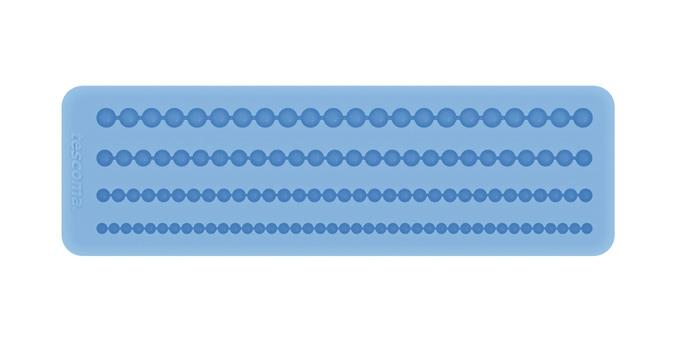 Silikonové formičky DELÍCIA DECO, bordura s korálky