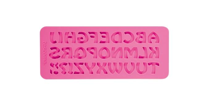 TESCOMA silikonové formičky DELÍCIA DECO, abeceda retro