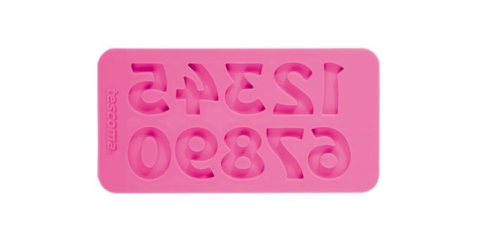 TESCOMA silikonové formičky DELÍCIA DECO, čísla retro