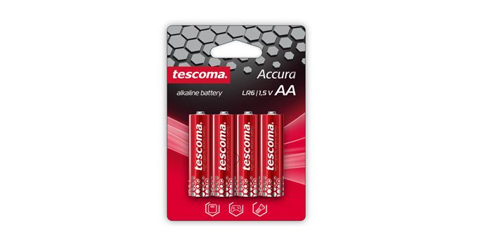 Bateria AA alkaliczna ACCURA, 4 szt.