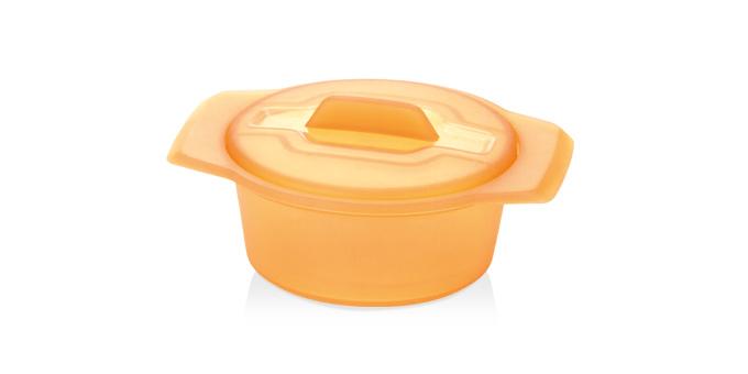 TESCOMA miska FUSION Diet Revolution ø 15 cm, oranžová