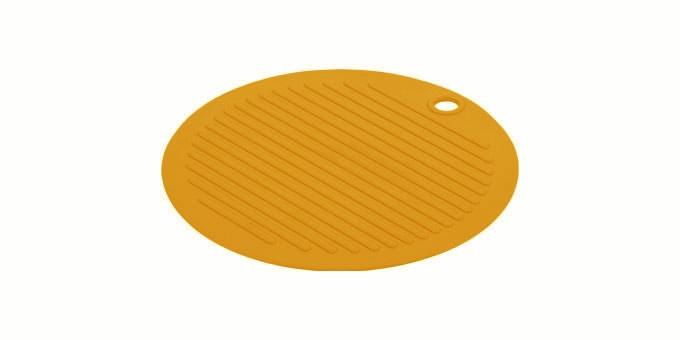 TESCOMA podložka pod nádobí FUSION ø 20 cm, oranžová