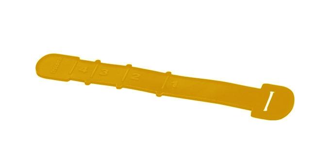 TESCOMA odměrka na špagety FUSION, oranžová